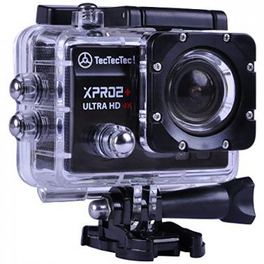 Nouveau TecTecTec Action Cam XPRO2+ Ultra HD 4K Camera Wifi Sport etanche @ Amazon.fr